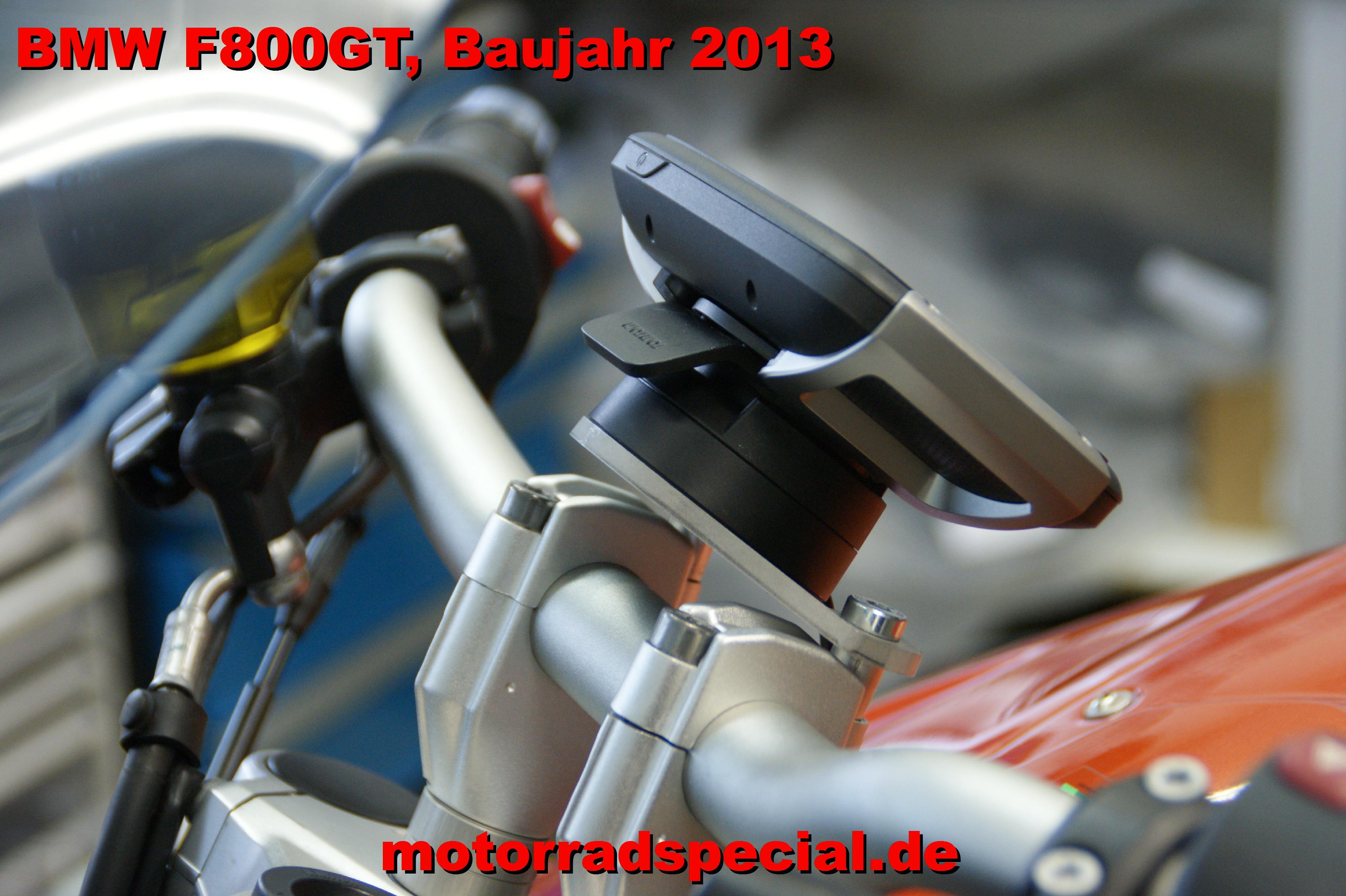 BMW_F800GT_Baujahr2013_Navigationshalterung_Navihalter_Navihalterung