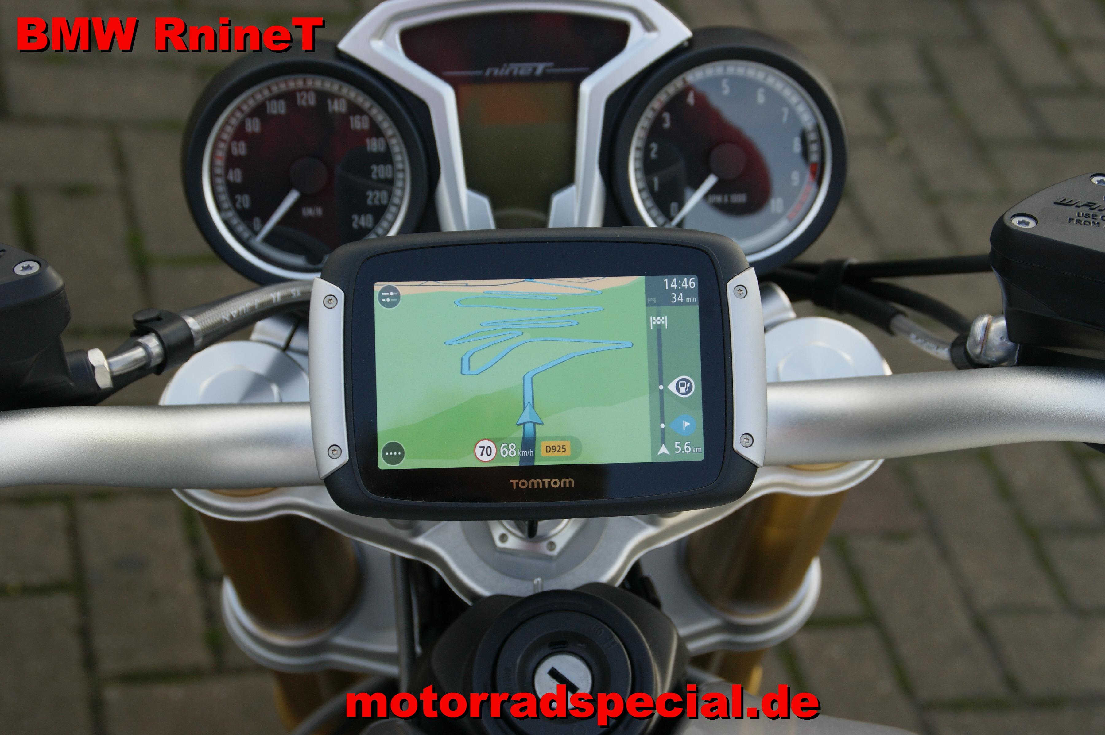 navigationshalter f r bmw rninet tomtom rider 400 410 eu motorrad special ihre. Black Bedroom Furniture Sets. Home Design Ideas