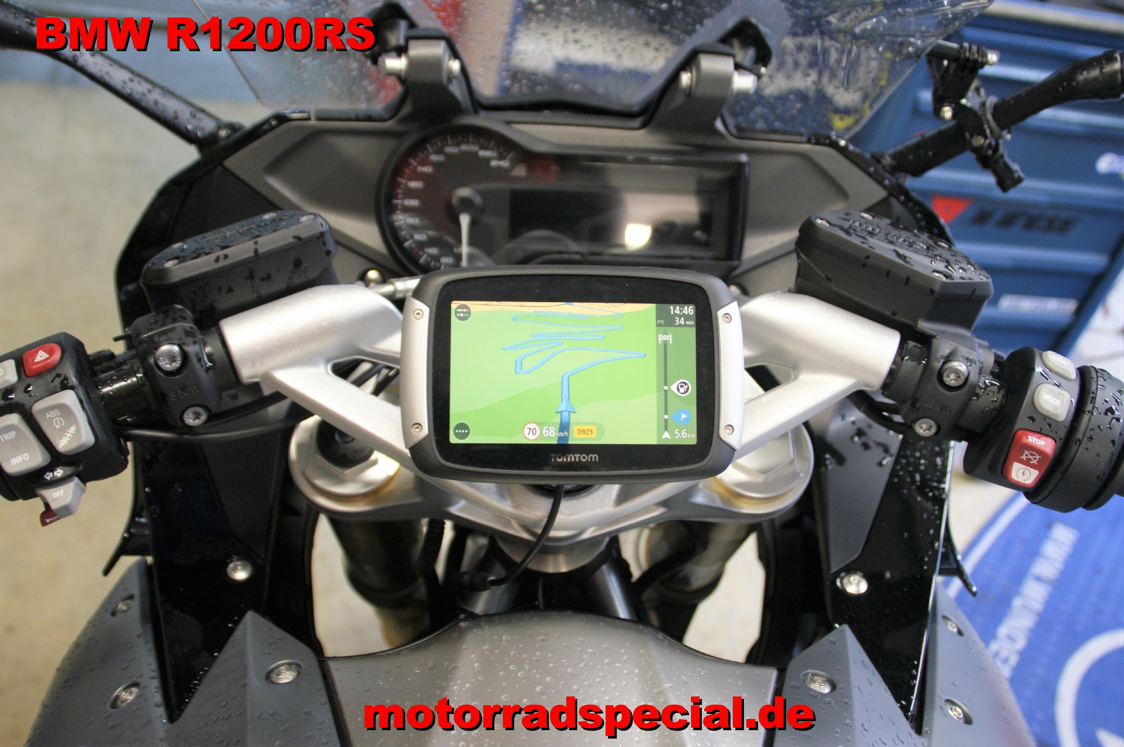 Navigationshalter Fur Bmw R1200rs Tomtom Rider 400 410 Eu Motorrad