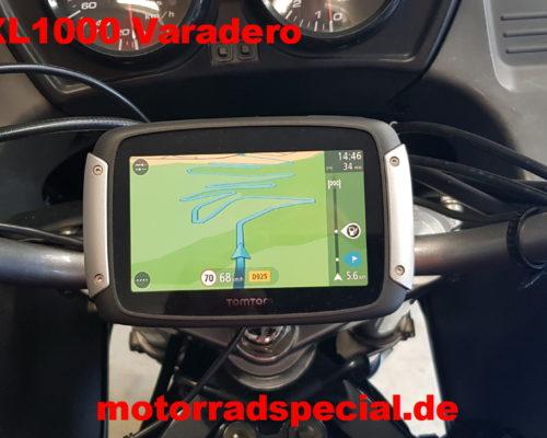 Honda XL1000 Varadero Navigationshalter TomTom